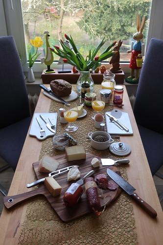 Frühstück an unserem dritten Urlaubstag