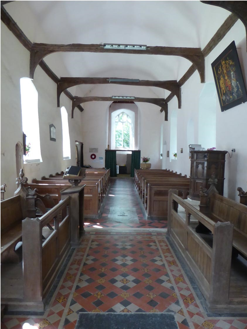 NETTLESTEAD, St Mary Interior