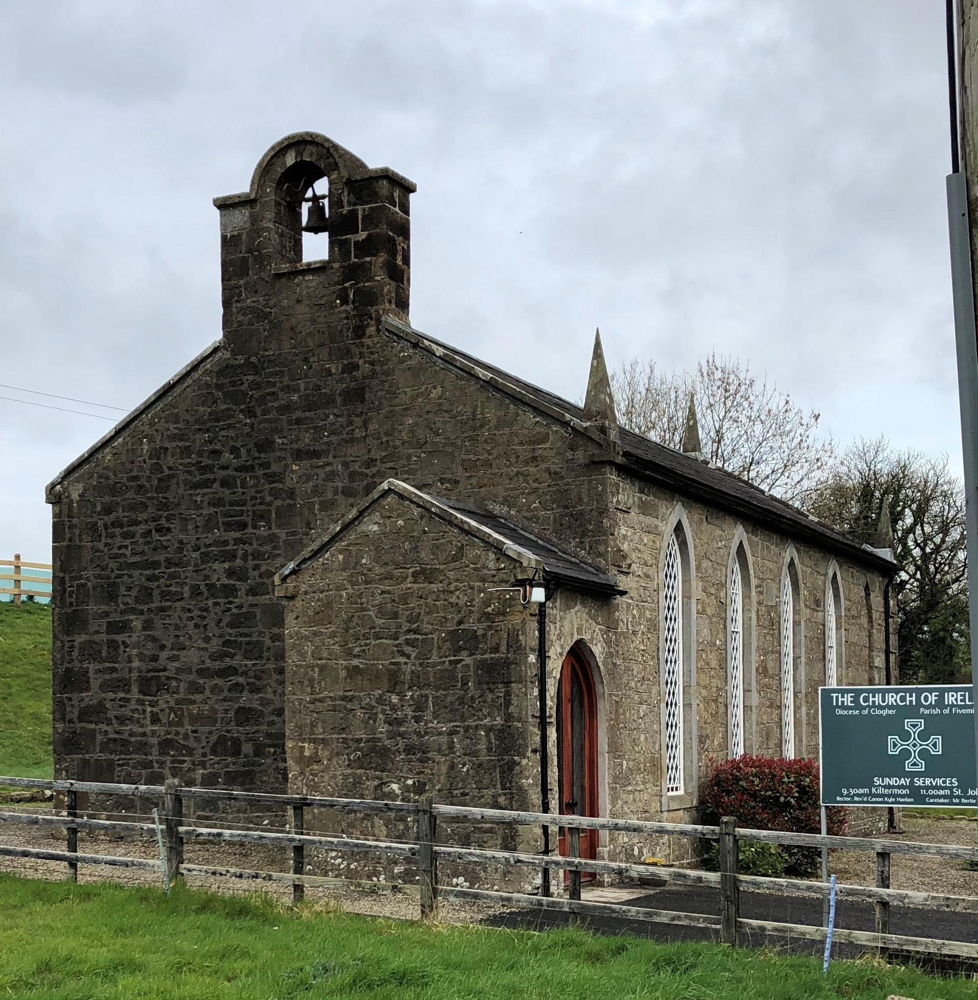 FIVEMILETOWN, Kiltermon Church of Ireland - Exterior