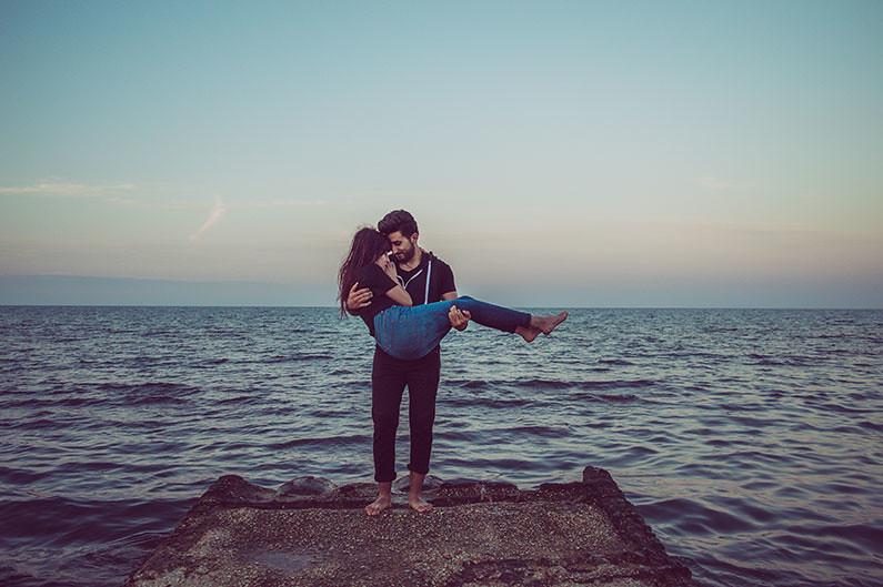 Pantai Matahari terbit spot hunting 'photo prewedding'