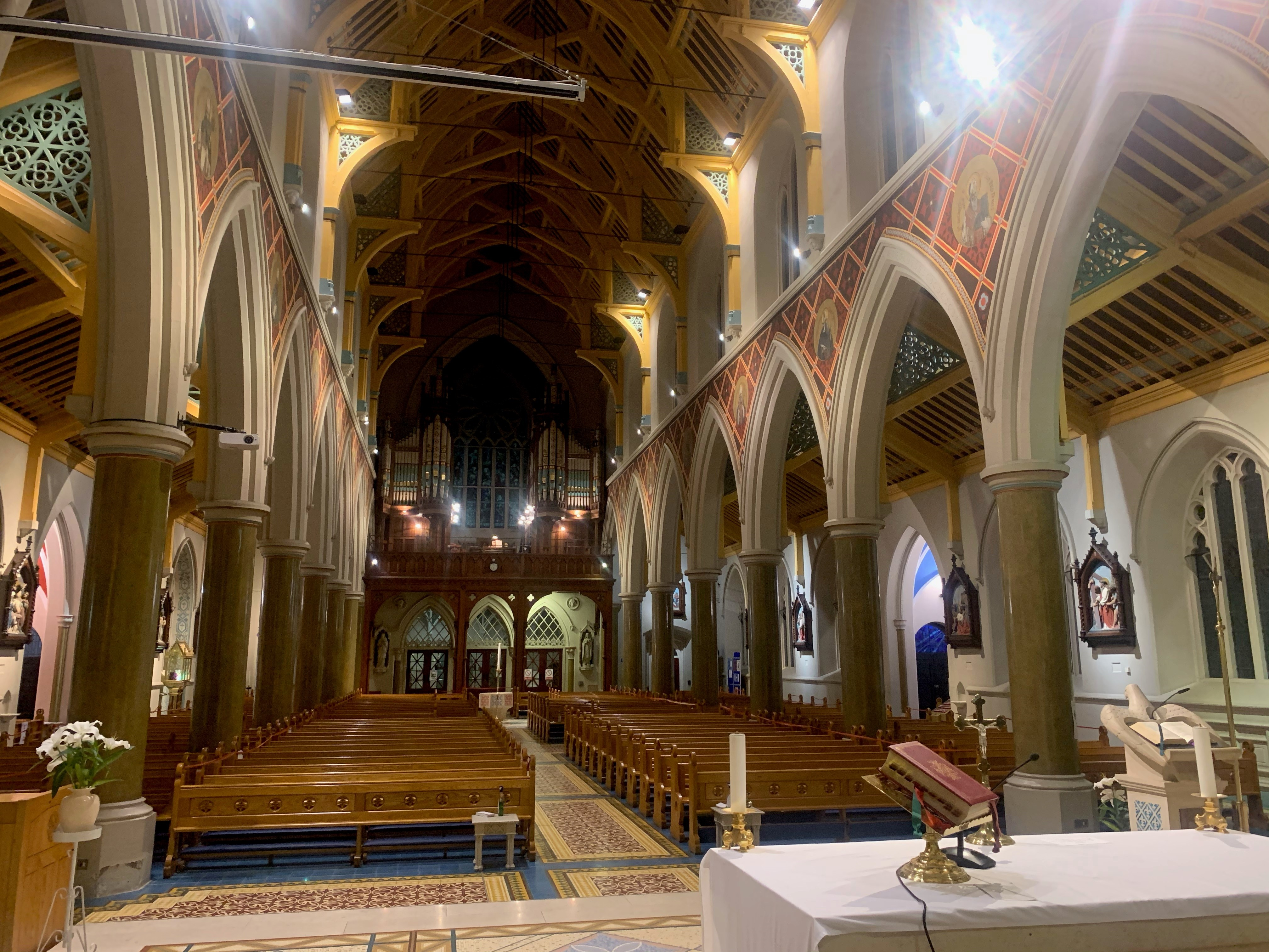 BELFAST, St Peter's Cathedral Int