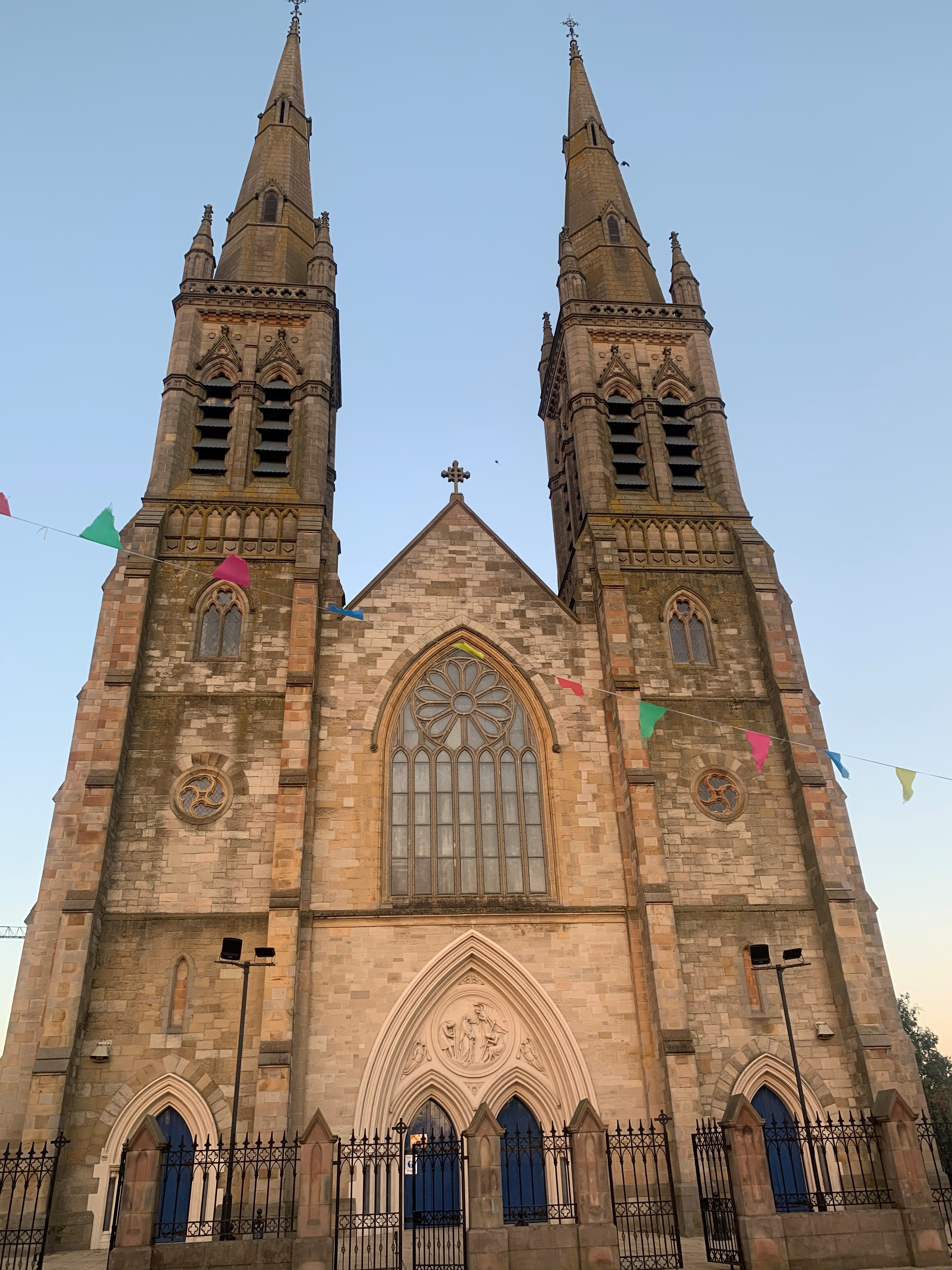 BELFAST, St Peter's Cathedral Ext