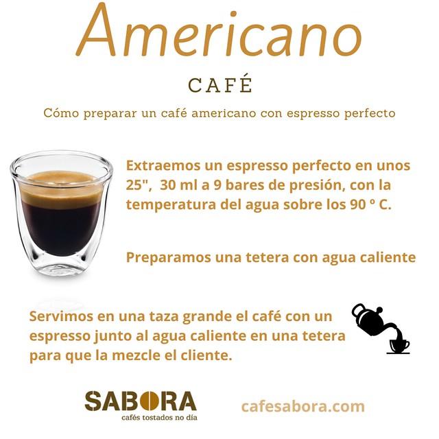 Cómo preparar un café america con espresso perfecto