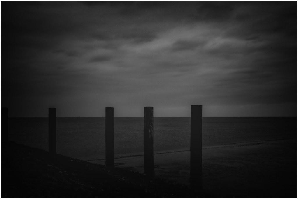 night over the sea
