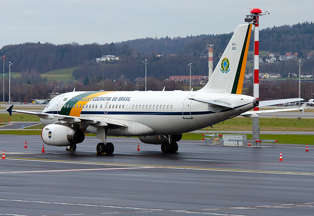 2101 Brazil - Air Force Airbus VC-1A (A319-133/CJ)
