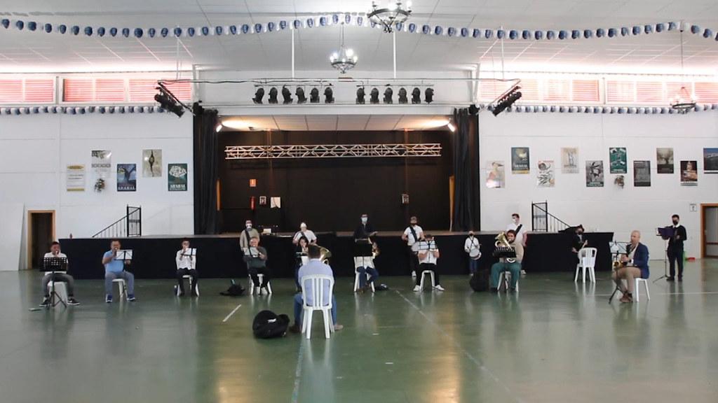 Actuación Asociación Musical Nuestra Senora de la Oliva