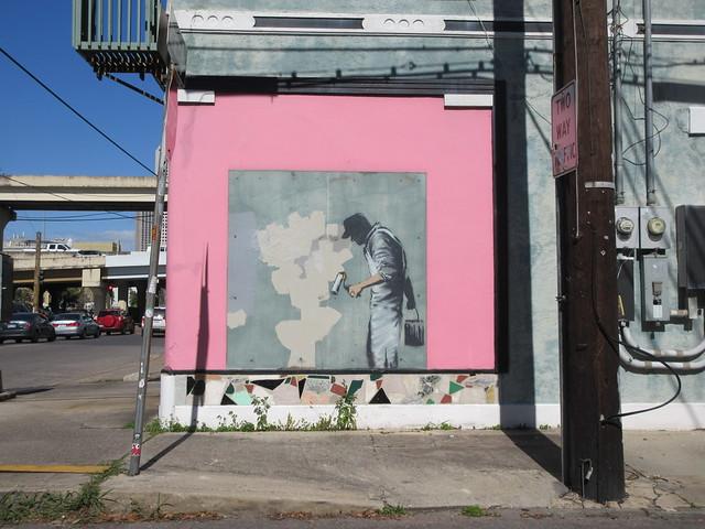 Preserved Banksy Corner