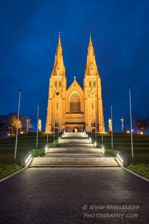 ARMAGH, St Patrick's Cathedral Ext
