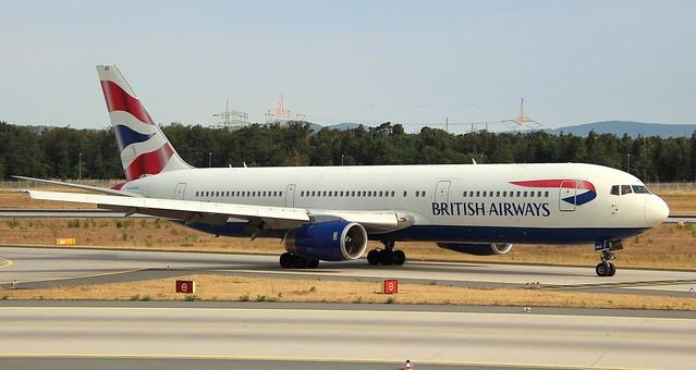 British Airways, G-BNWZ, MSN 25733,Boeing 767-336ER, 07.07.2018,FRA-EDDF, Frankfurt
