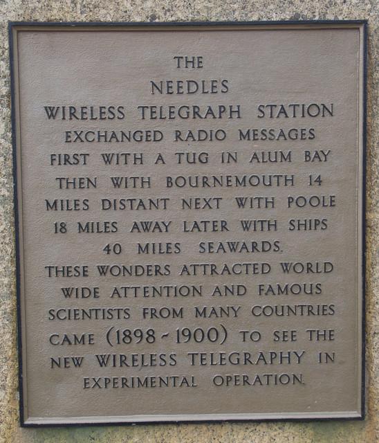 Marconi Wireless Telegraph Station.