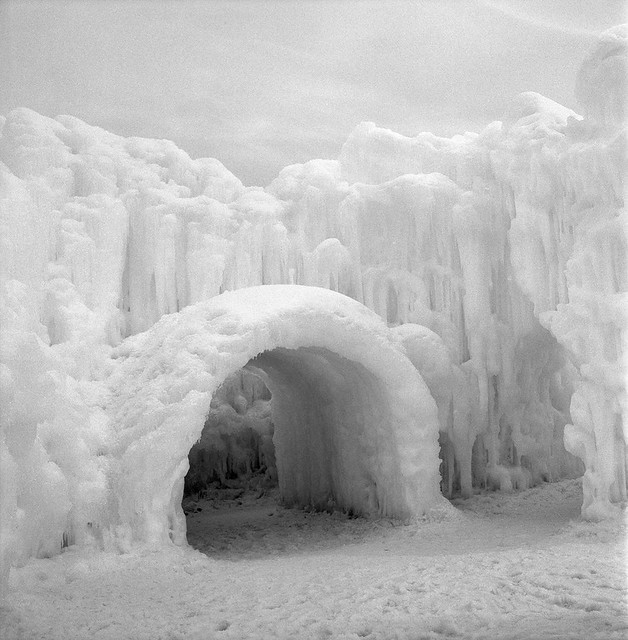 Midway Ice Castles - Midway Utah