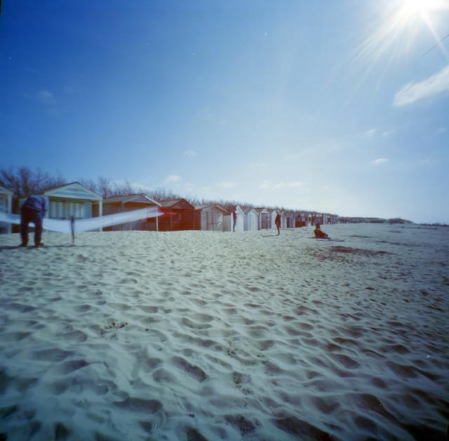 Pinhole 6x6 West Wittering Beach