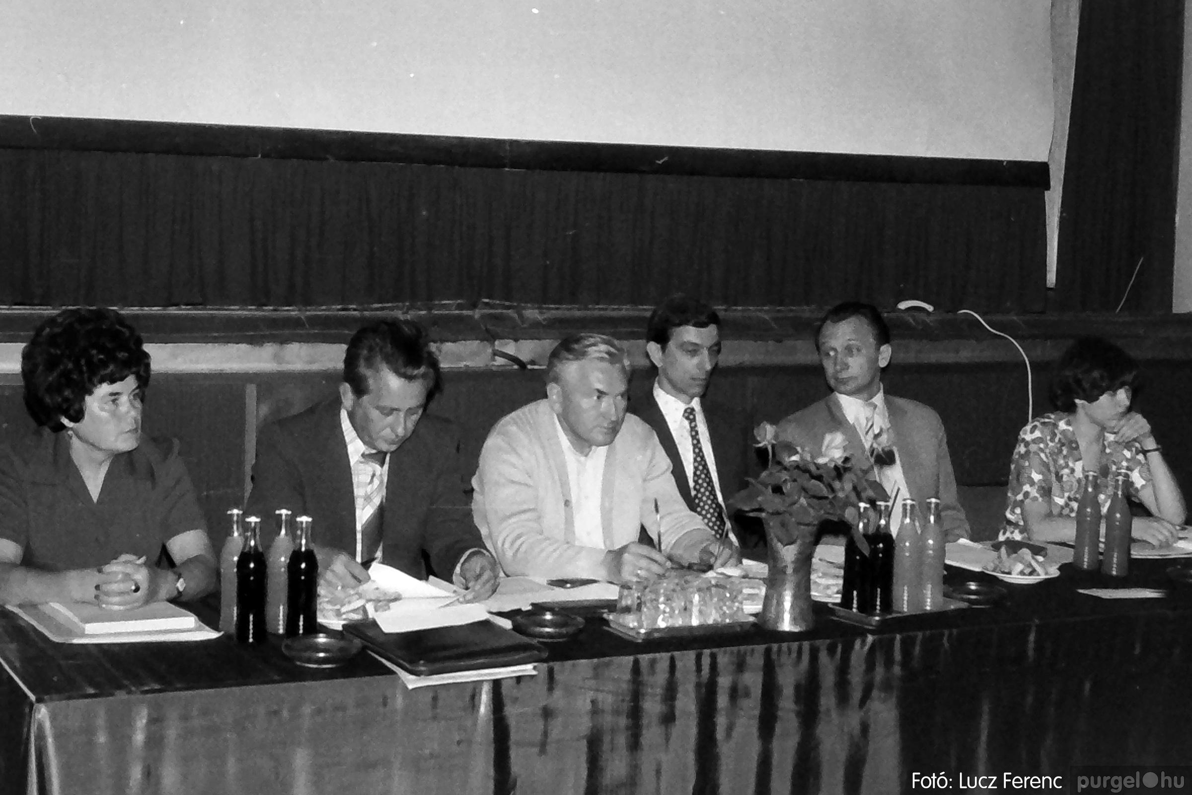 081. 1977. Kendergyári dolgozók vetélkedője 010. - Fotó: Lucz Ferenc.jpg