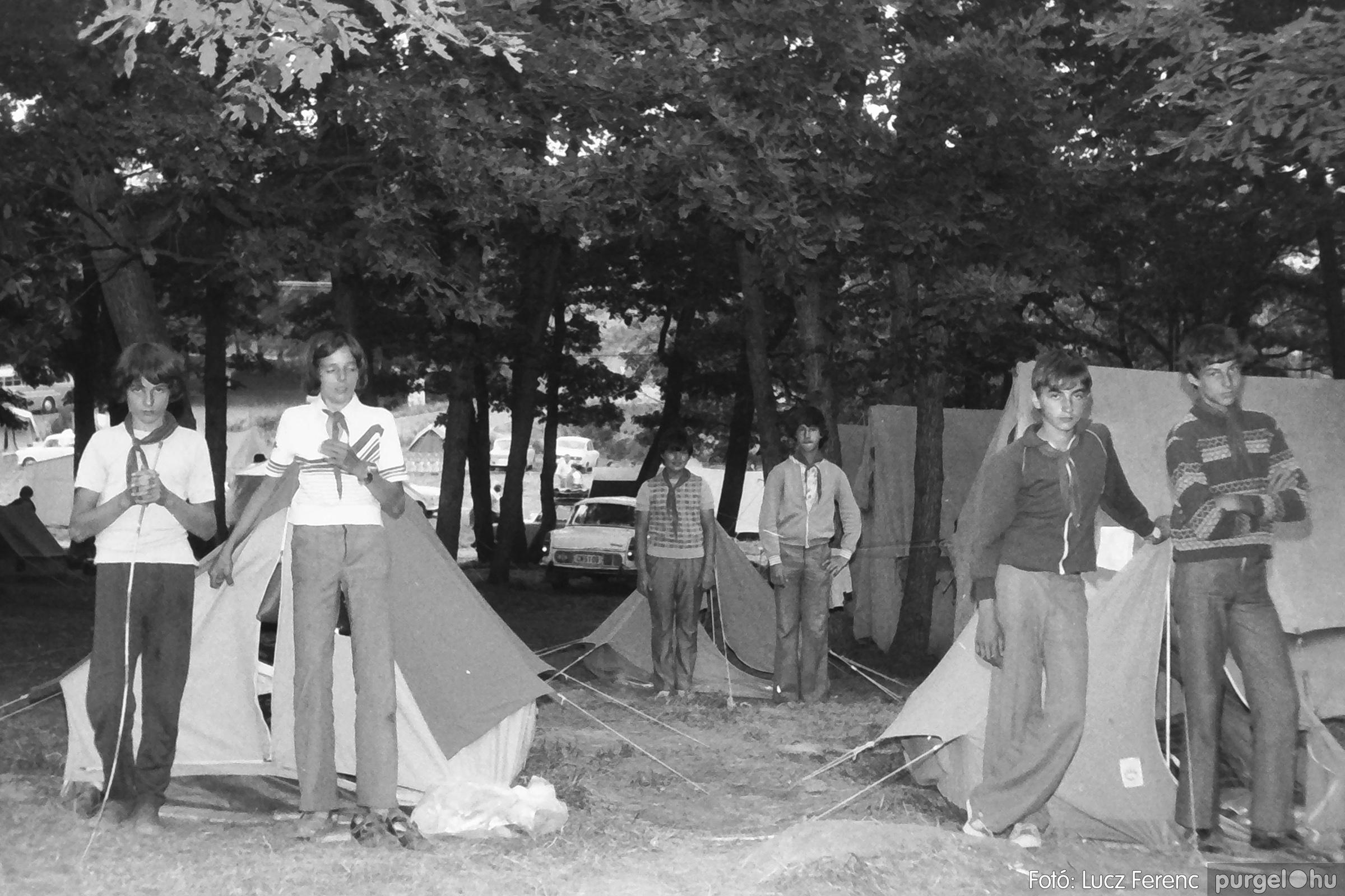 086, 088. 1977. Nyári tábor a Mátrában 046. - Fotó: Lucz Ferenc.jpg