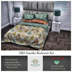 DD Amailia Bedroom Set Adult