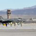 An F-35A Lightning II assigned to the 421st Fighter Squadron taxis during Red Flag 20-1 at Nellis Air Force Base, Nev., Feb.5, 2020. (U.S. Air Force photo by R. Nial Bradshaw)