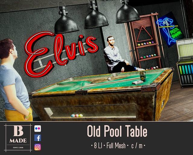 Old Pool Table @ 4 Seasons