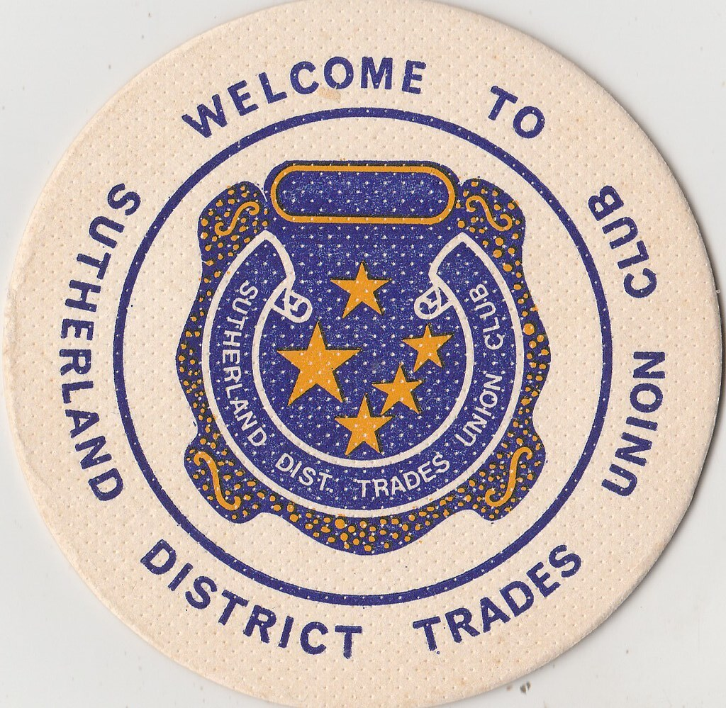 Sunderland District Trades Union Club. Gymea, New South Wales, Australia. (ASR007 F).