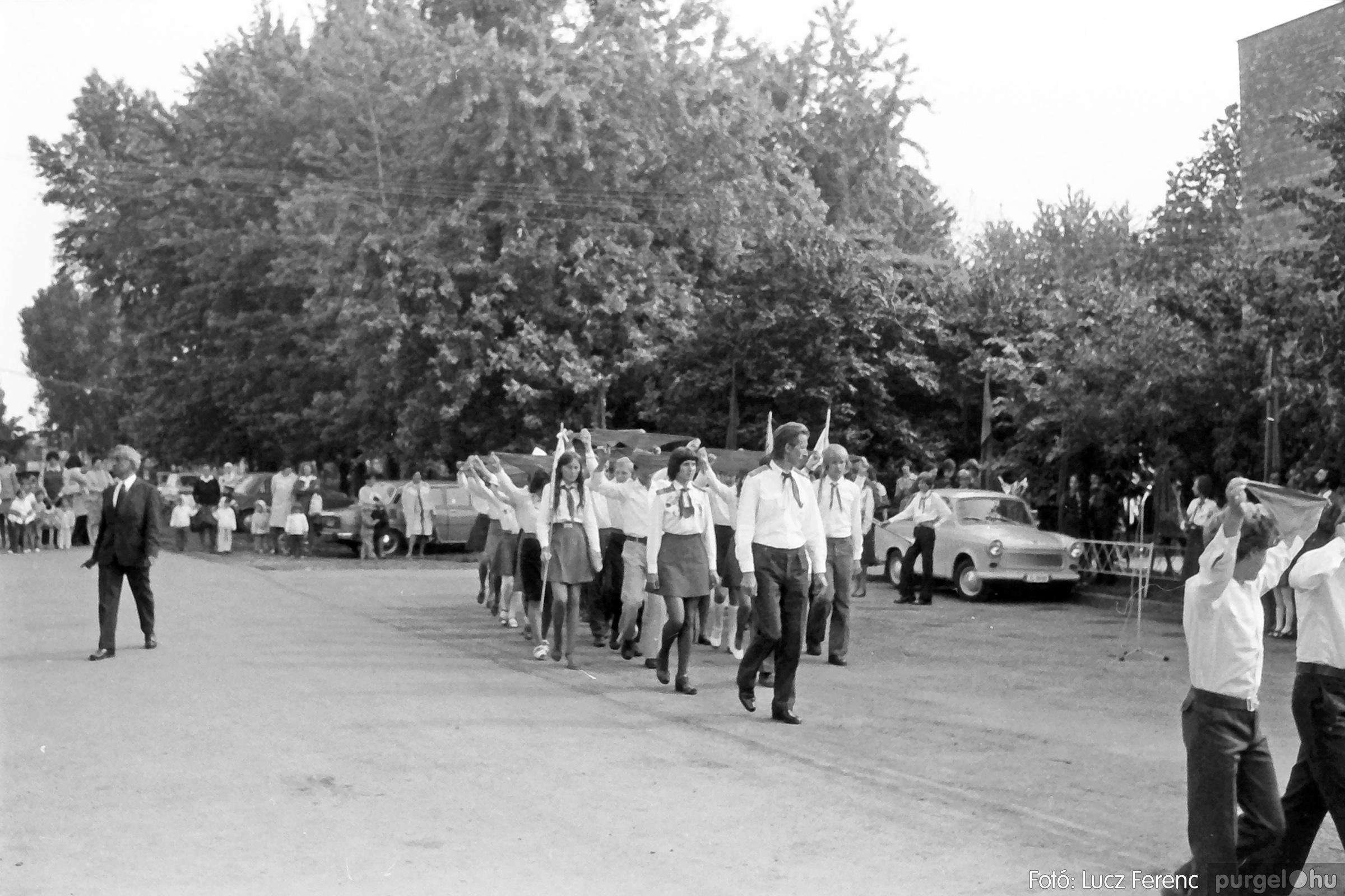 082. 1977. Kisdobos és úttörő avatás 033. - Fotó: Lucz Ferenc.jpg