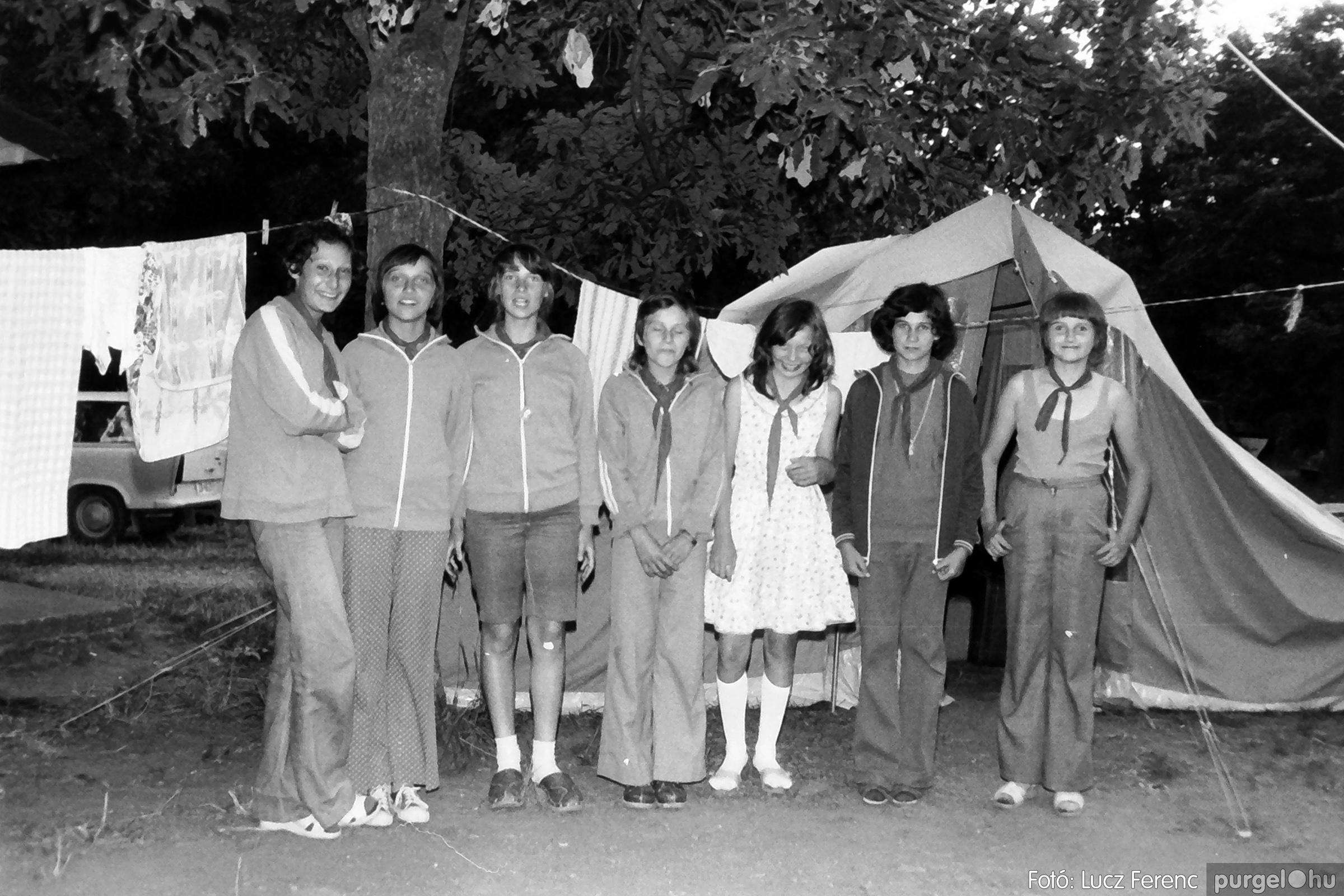 086, 088. 1977. Nyári tábor a Mátrában 055. - Fotó: Lucz Ferenc.jpg