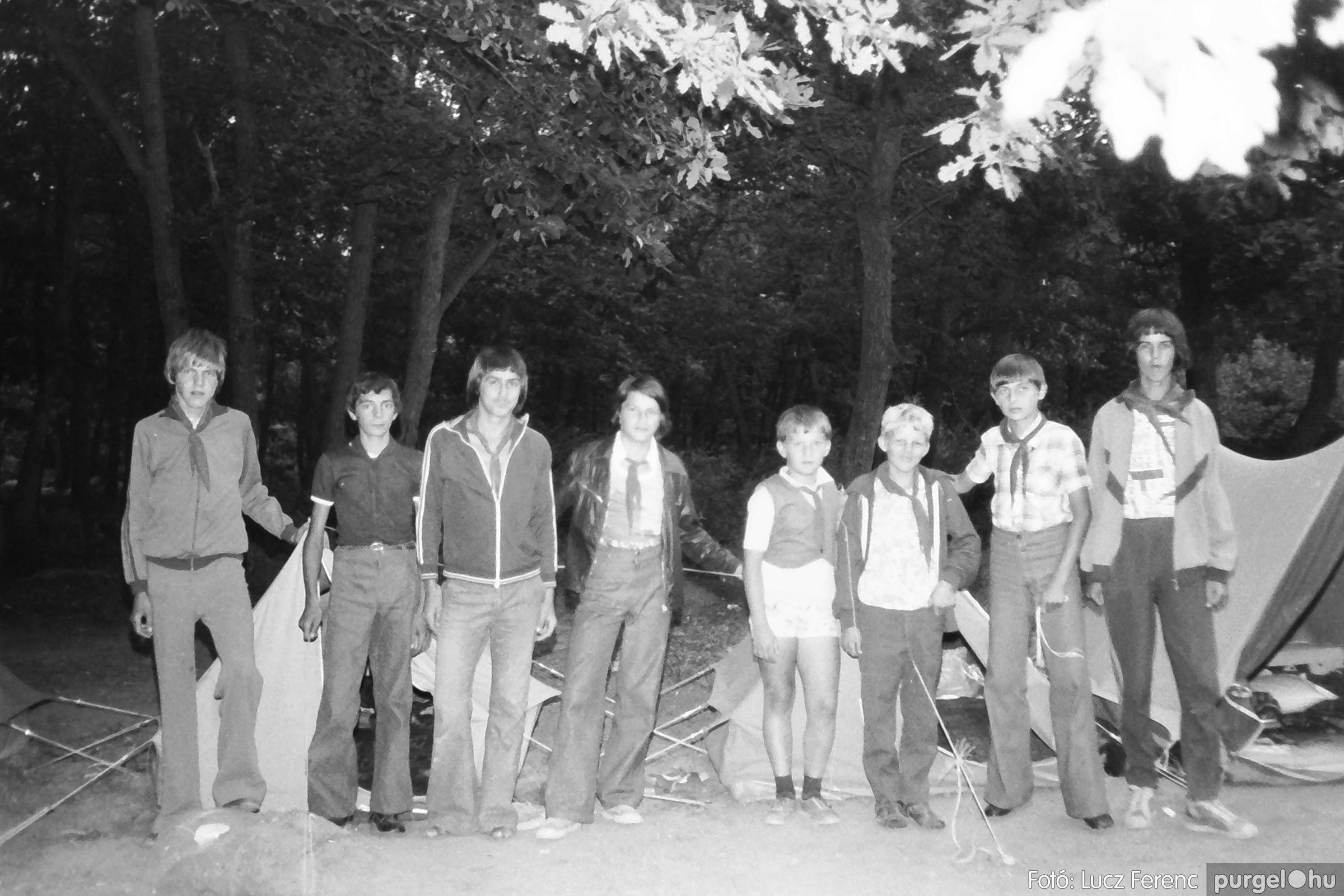 086, 088. 1977. Nyári tábor a Mátrában 053. - Fotó: Lucz Ferenc.jpg