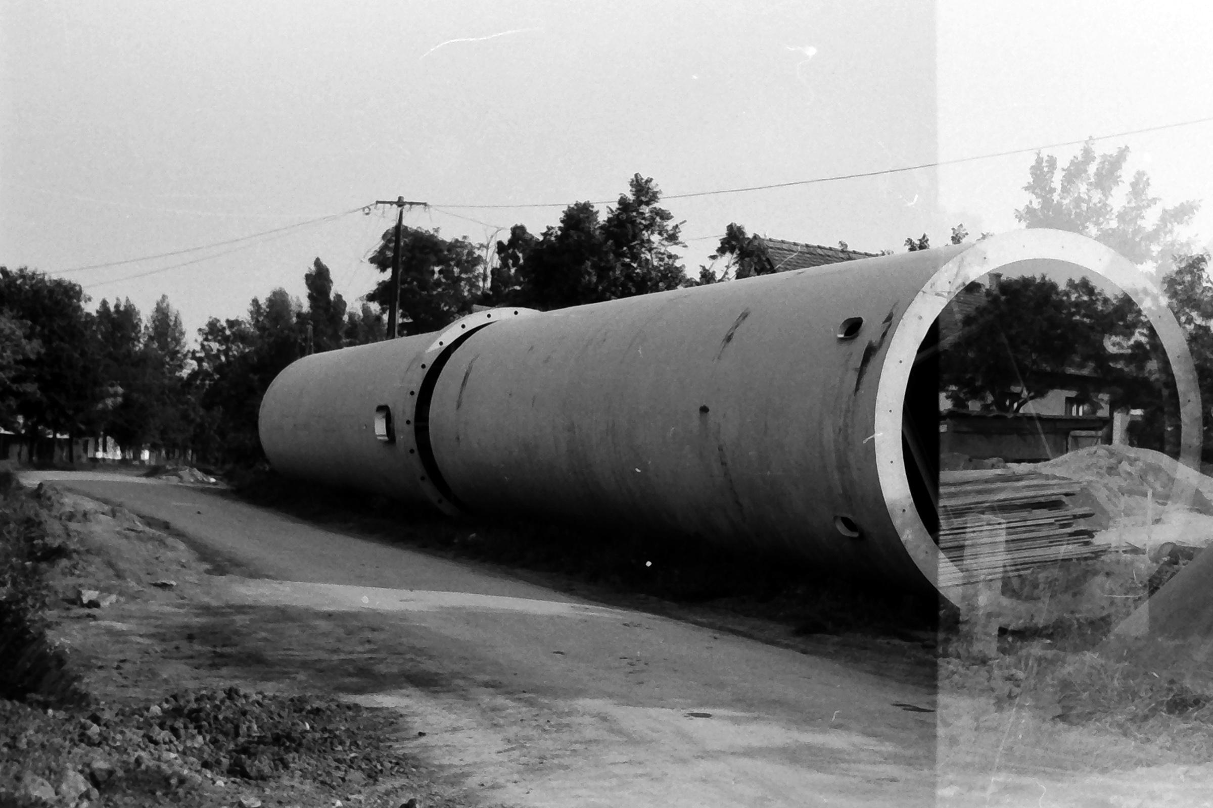 082. 1978. Épül a víztorony 004. - Fotó: Lucz Ferenc.jpg