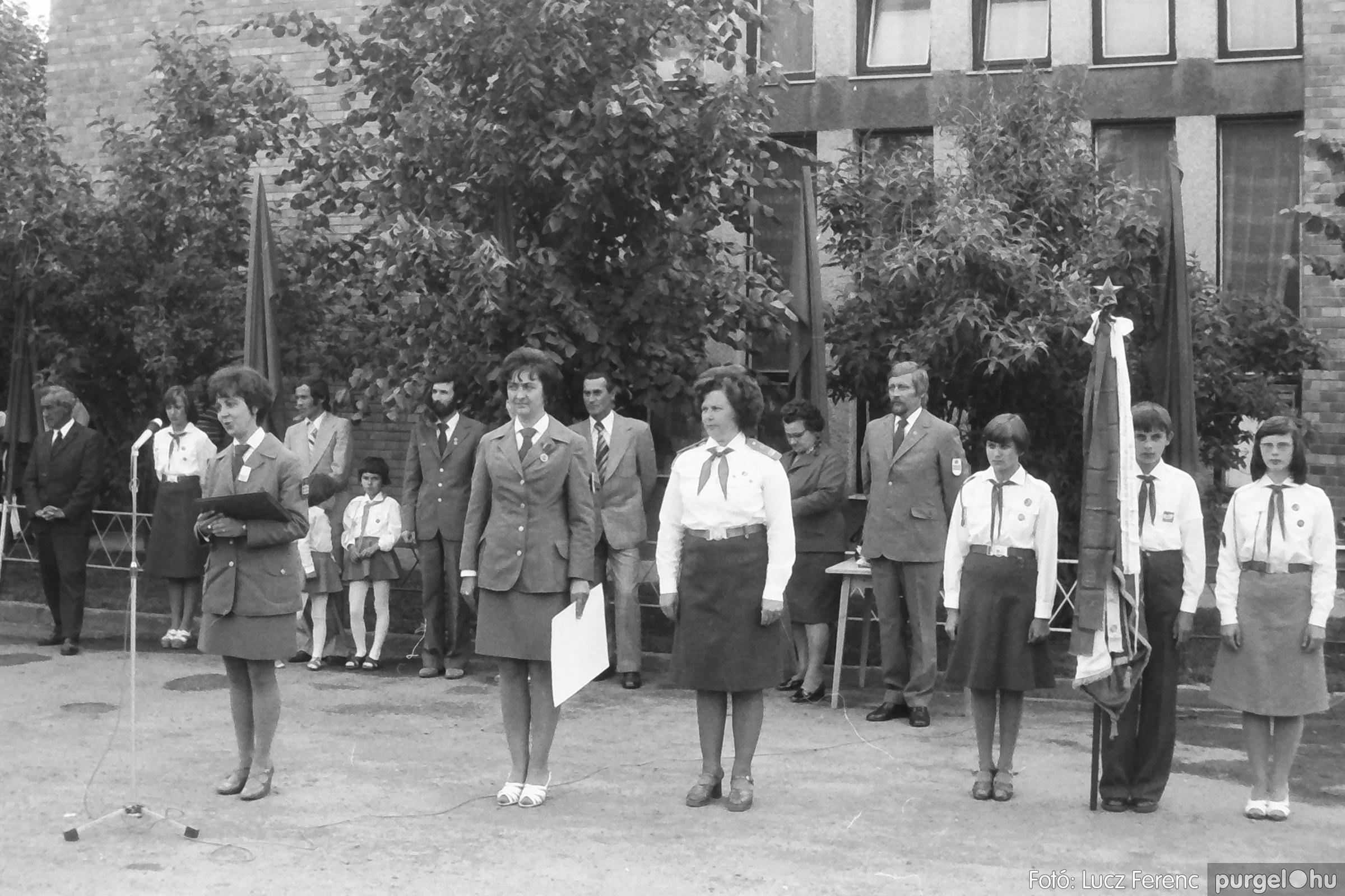 082. 1977. Kisdobos és úttörő avatás 014. - Fotó: Lucz Ferenc.jpg