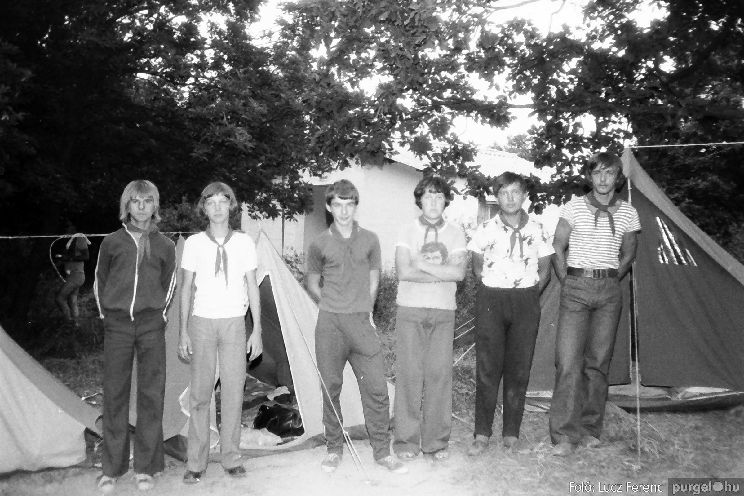086, 088. 1977. Nyári tábor a Mátrában 054. - Fotó: Lucz Ferenc.jpg