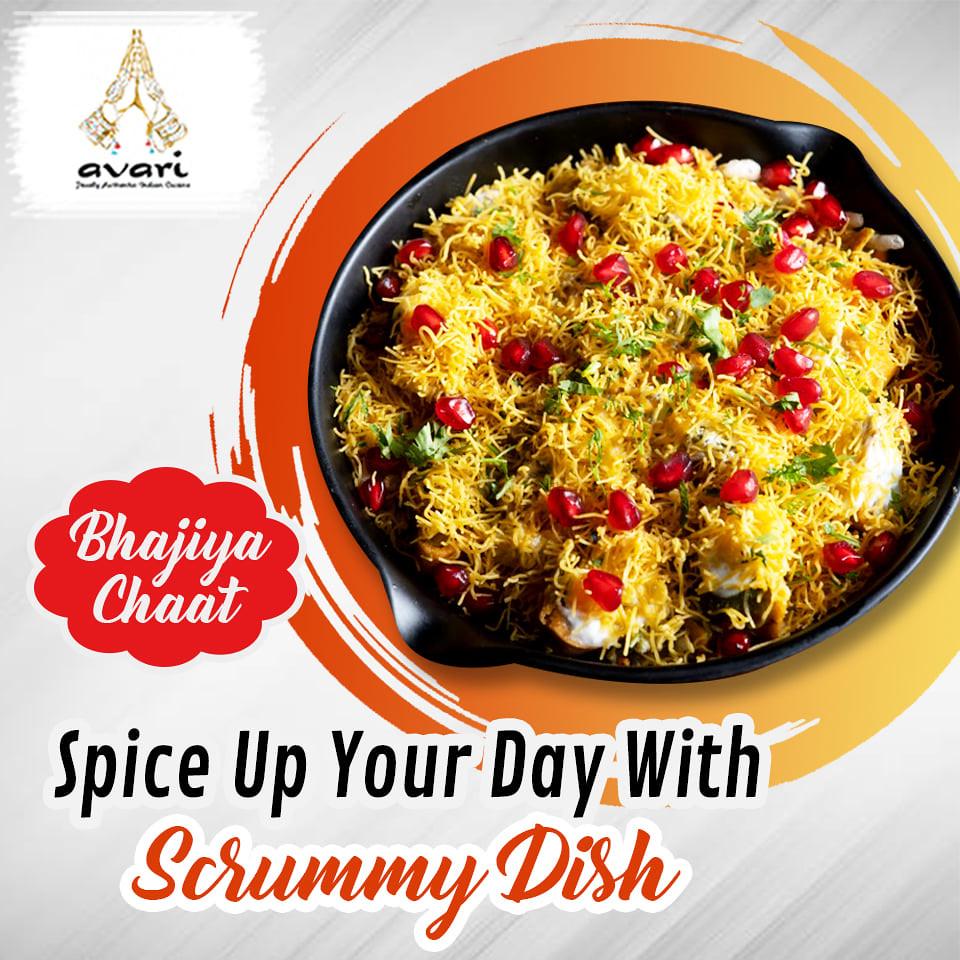 bhajiya chaat special dish