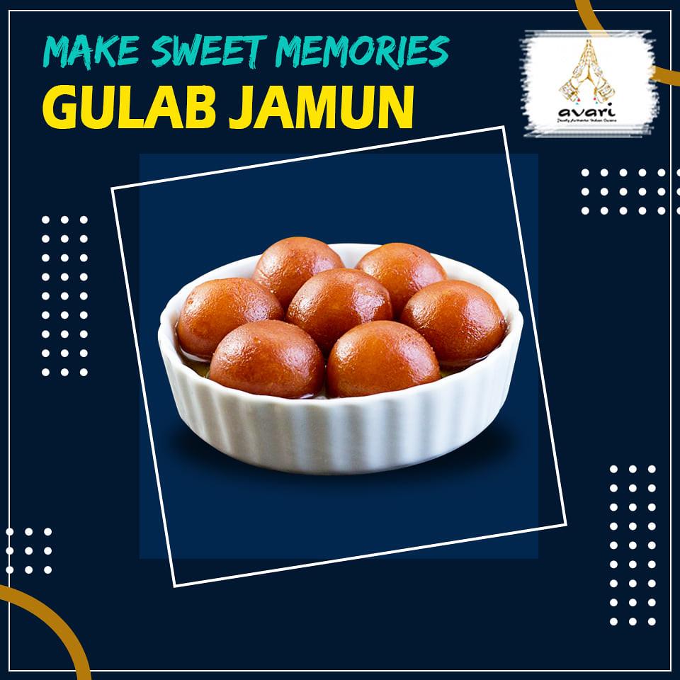 make sweet memory with gulab jamun