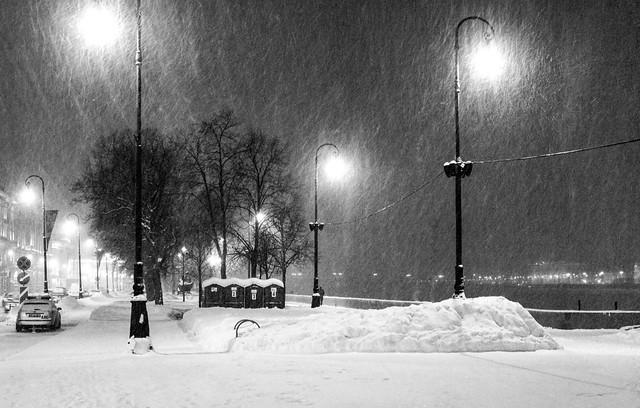 Snowy evening #1