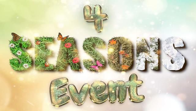 ⭐️ 4 Seasons Event – April 2021 ⭐️
