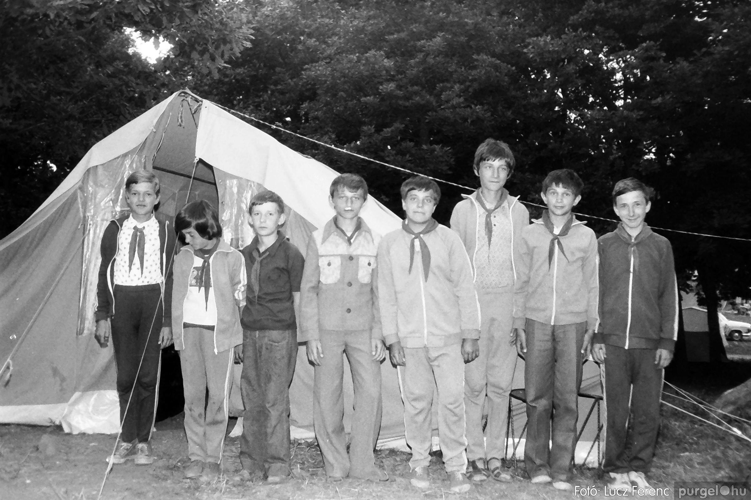 086, 088. 1977. Nyári tábor a Mátrában 056. - Fotó: Lucz Ferenc.jpg