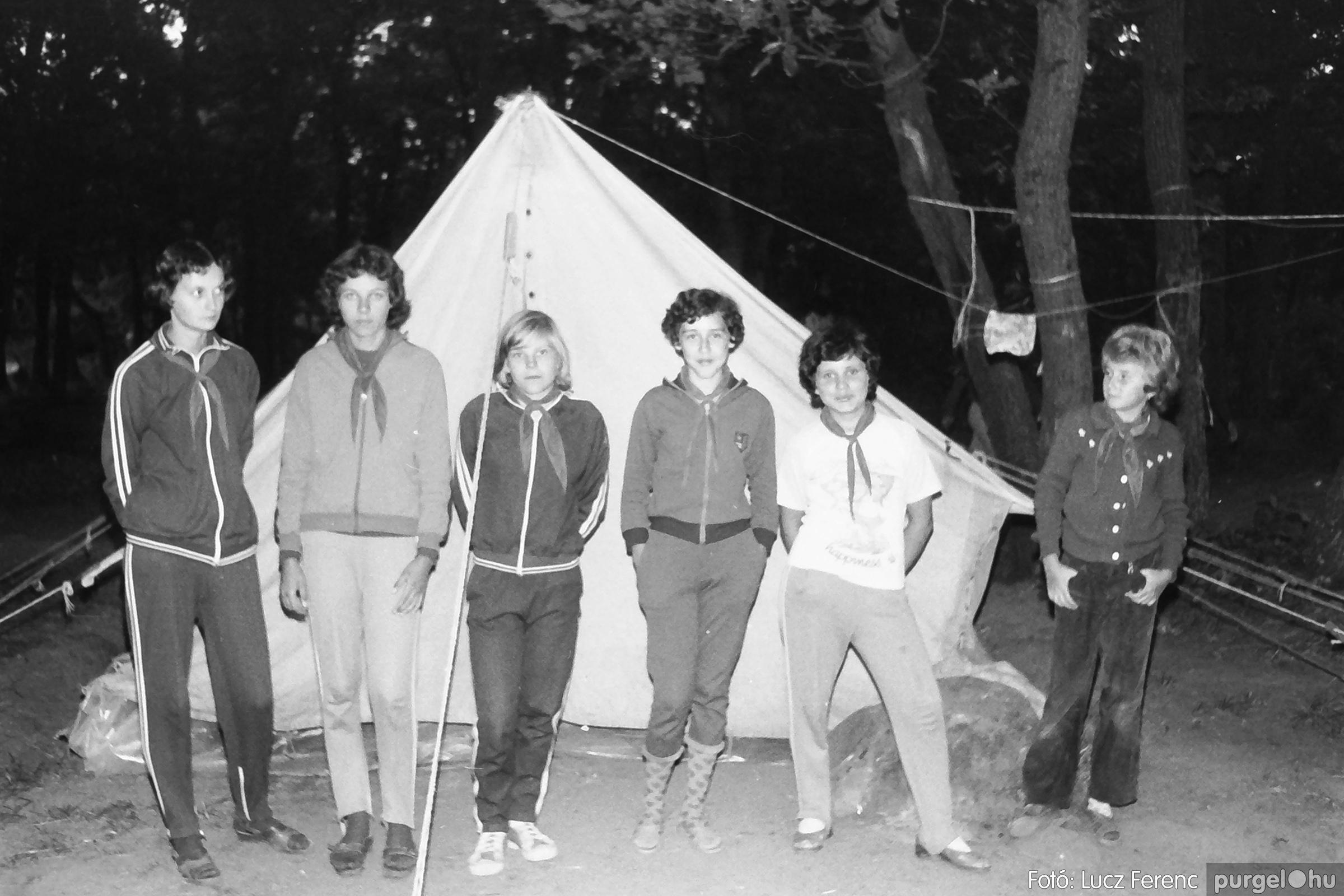 086, 088. 1977. Nyári tábor a Mátrában 051. - Fotó: Lucz Ferenc.jpg