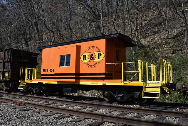 B&P Railroad 1004 Caboose @ Tarrtown, PA