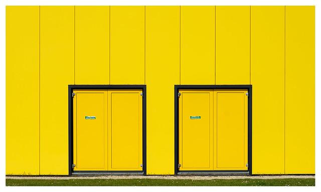 Double double doors