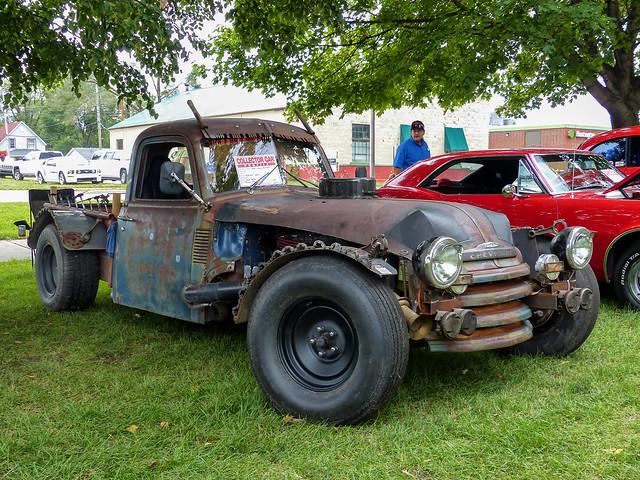 Advance Design Chevrolet Rat Rod Pickup Truck