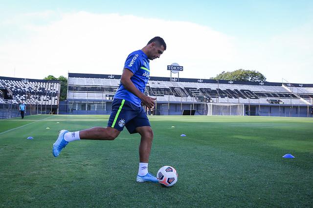 Treino Grêmio em Assunção - 08/04/2021