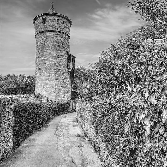 Turm Stadtmauer Rothenburg ob der Tauber