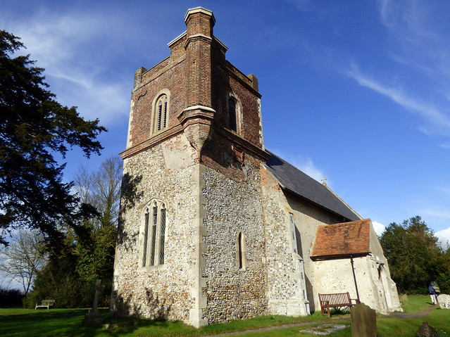 All Saints' Church, Throcking, Cottered