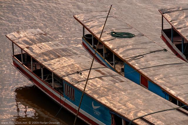along the Mekong (continued), Luang Prabang Laos
