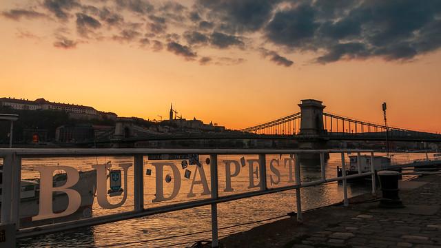 Twilight in Budapest