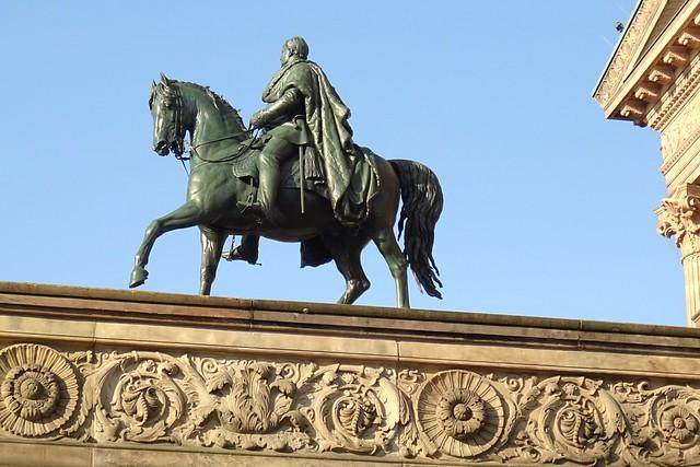 Friedrich Wilhelm IV Reiterstandbild