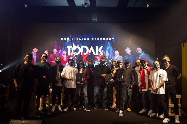 K-Clique jalin kerjasama dengan Todak