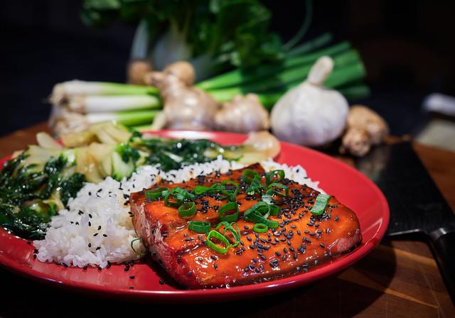 Ginger-Soy-Wasabi Salmon