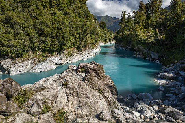 Hokitika Gorge, New Zealand