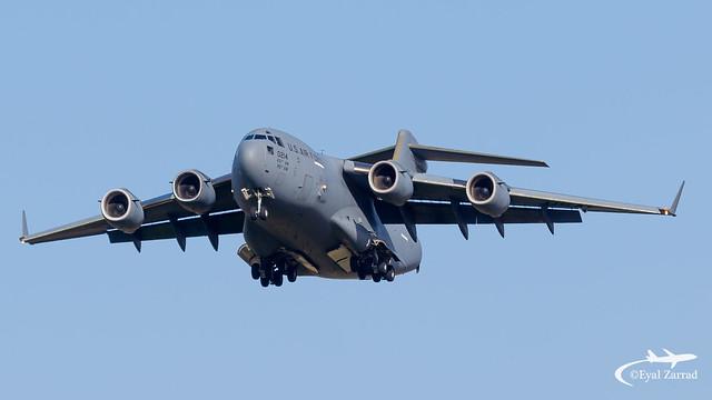 TLV - USAF C-17 Globemaster 10-0214