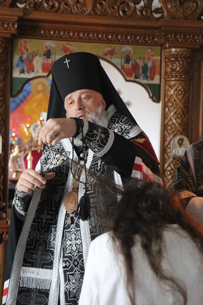 08.04.21 - монашеский постриг в Спасском монастыре в г. Кобрине