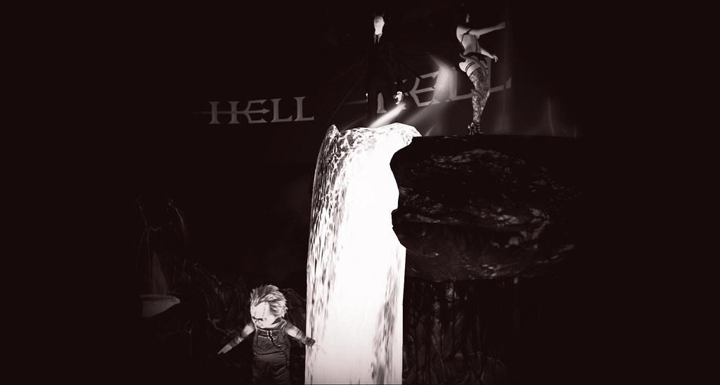 Slenderman in Hell