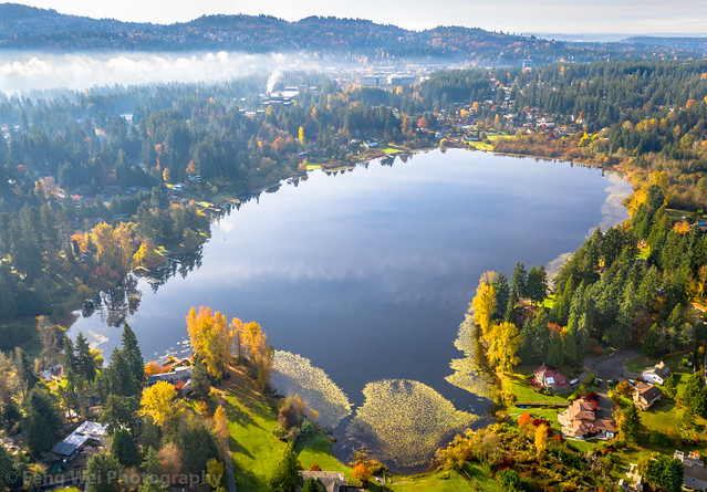 Phantom Lake, Bellevue, Washington, USA